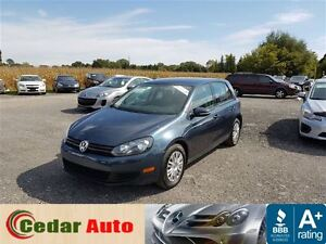 2012 Volkswagen Golf 2.5L Trendline SOLD