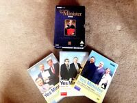 The Complete Yes Minister Collector's Boxset. BBC DVD, 4 disc set. £10.00.