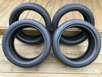 4 x DUNLOP SPORT MAXX RT Tyres (Nearly New) 205/44 R17 88W