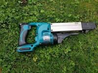 Makita BFR750 18-Volt LXT Lithium-Ion Cordless Autofeed Screwdriver screwgun drywall