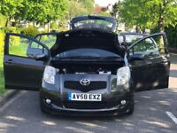 toyota yaris 1.3SR petrol automatic 5door hatchback+low miles+excellant condition+recently serviced