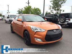 2013 Hyundai Veloster **CAMERA DE RECUL, MAGS NOIR, A/C+USB + WO