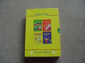 Childrens Sparkle Boardbooks (Pack of 4) in display box