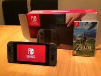 Nintendo Switch grey excellent condition