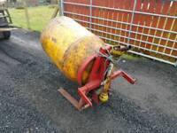 Tractor three point linkage pto driven teagle spiromix cement mixer