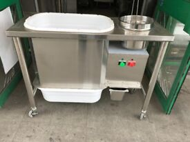 FRIED CHICKEN BREADING TABLE CATERING COMMERCIAL KITCHEN EQUIPMENT FAST FOOD RESTAURANT SHOP BAR