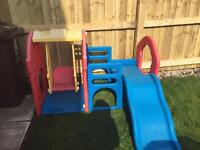 Toddler play centre, climbing frame swing & slide