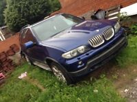 Bargain x5 4.8is fully loaded panroof 2006 £2795
