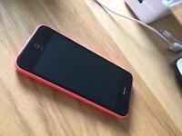 Pink iPhone 5c unlocked to any network! good condition