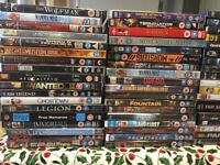 Selection of mixed DVDs
