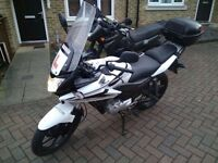 2012 Honda CBF125 Will be sold with 12 months MOT.New pads&battery fitted.2 cans of Chain spray.