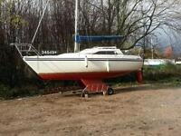 Sail Cabin Cruiser - 5/6 berth Hunter Horizon
