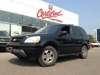 2005 Honda Pilot EXL-Leather-Sunroof-All Wheel Drive-*AS-IS*