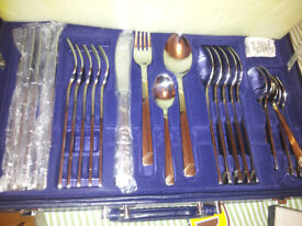 Suissine 24-piece cutlery set