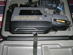 CAMERA VHS SHARP VL-L150U  for sale
