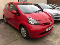 Toyota Aygo 1.0 VVT-i + 3dr - 2007, DEALER SERVICE HISTORY, MOT OCTOBER 2017 , 2 LADY OWNERS, £1995