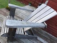 Western Red Cedar Garden Adirondack Chair