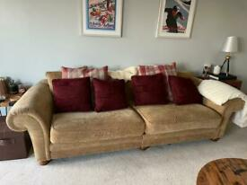 SOFAS - 3 seater and 4 seater £150