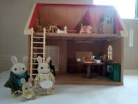 Sylvanian family cottage
