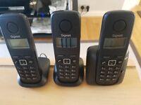 3 x Cordless Phone, Gigabit A120