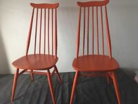 2 Ercol goldsmith chairs