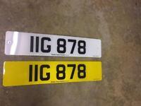 IIG 878 personal plate