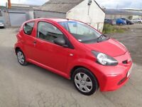 2006 TOYOTA AYEGO 1.0 VVTI 3 DOOR HATCHBACK RED 12 MONTHS M.O.T