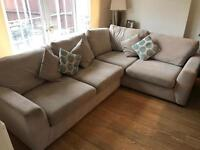 Good condition corner couch from DFS