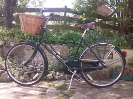 """Princess Sovereign lady's bicycle green 20""""frame classic vintage"""