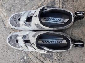 Specialized Triathlon Bike Shoes (UK size 9)