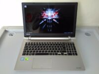 NEARLY NEW GAMING TOSHIBA 15,6 -CORE i5 6TH-DEDICATED NVIDIA - 16 GB - SSHD-WARRANTY-UK DELIVERY