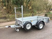 Ifor Williams GD84Mk3 Single Axle Braked Trailer 8 x 4 ( Quad / Mower / Plant )