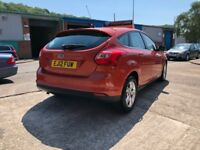 2012 FORD FOCUS ZETEC 1.6 PETROL*2 KEYS*BLUETOOTH*12 MONTHS AA BREAKDOWN COVER*PART SERVICE HISTORY*