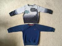 Next boys jumpers x2 age 2-3 years