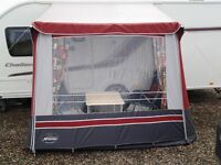 Porch Awning for caravan.