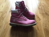 Timberland Boots - Ladies Size 5 Pink!