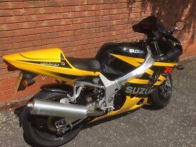 Suzuki GSXR 600 K3 Yellow/Black | Amazing Example Motorbike With FREE Matching Leather Jacket