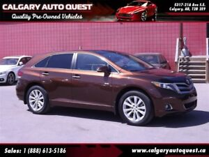 2014 Toyota Venza LIMITED AWD/NAVI/B.CAM/LEATHER/ROOF