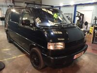VW Transporter T4 Camper, Bed, TV, Swivel Seats, Immaculate (2003) 888 Special