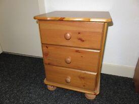 For Sale - pine bedside cabinet