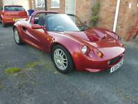 LOTUS ELISE S1 FINISHED IN RUBY RED METALLIC STUNNING CAR