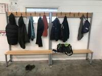 2 Benches with Coat Pegs/Hooks
