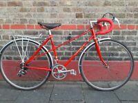 Vintage orbit gold medal Reynolds 531 racer bike
