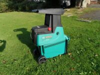 BOSCH AXT 25D Garden Shredder - Little used.