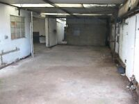 Unit & covered yard for rent