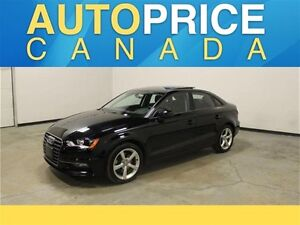 2016 Audi A3 2.0T PANOROOF AWD LEATHER