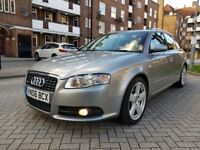 Audi A4 Avant 2.0 TDI S Line 5dr Full Audi Service History New Cambelt Kit Done Perfect Condition,