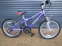 GIRLS DAWES QUALITY LIGHTWEIGHT ALUMINIUM BIKE IN IMACULATE ALMOST NEW CONDITION. (SUIT AGE. 6 / 7+)