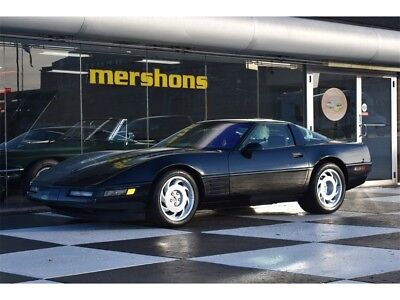 1991 Black Chevrolet Corvette ZR1  | C4 Corvette Photo 1