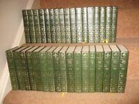 34 hardback Charles Dickens books, centennial edition from Heron books.